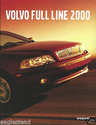 Auto Brochure - Volvo - Product Line Overview - 2000  (AB934)