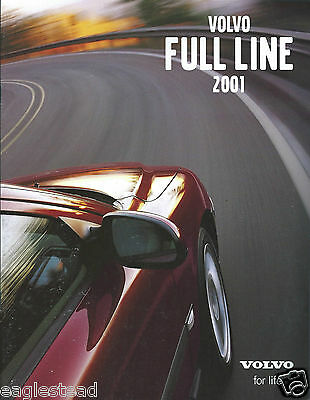 Auto Brochure - Volvo - Product Line Overview - 2001  (AB935)