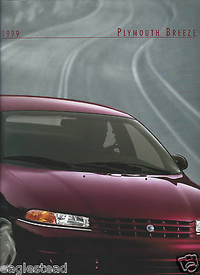 Auto Brochure - Plymouth - Breeze - 1999  (AB941)