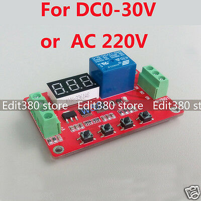 Voltage Relay Module Charging Discharge Monitor Switch Control Tester Comparator