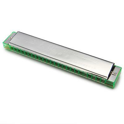 SWAN 24 Holes Double Tremolo Harmonica Key of C Mouth Organ Gifts