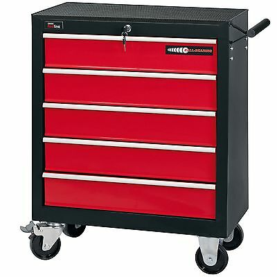 Draper Garage/Workshop Work Tool Storage Roller Cabinet - 5 Drawer - 80600