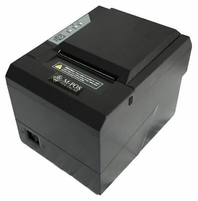 Receipt Printer 80mm Thermal MPOS265 USB/Serial/Network. New. Ship same day