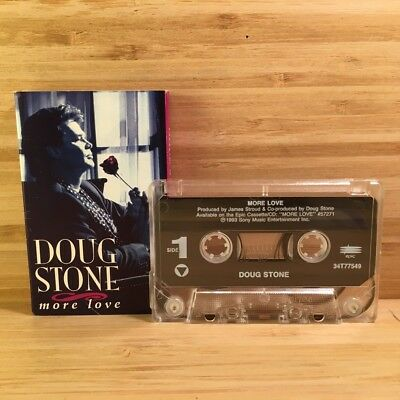More Love [Single] by Doug Stone Cassette Tape Jul-1994 Epic (USA) VG! #CT48