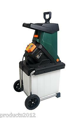 Garden Shredder 40mm Cutting Width Electric 2500 W 4050 RPM Blade