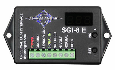 Dakota Digital Universal Tach Adapter 1JZGTE 2JZGTE 4AGZE Signal Interface SGI-8