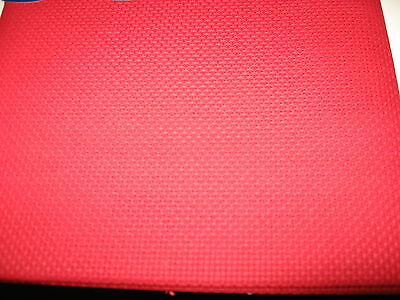 DMC 14 ct Count Aida Cloth Red