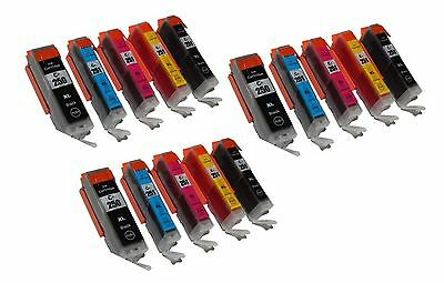 15 NON-OEM PGI250 CLI251 XL Ink Cartridge Canon Pixma MG-5420 6320 MX-922 IP7220