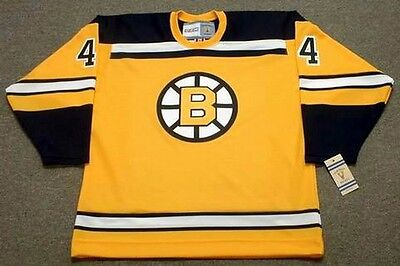 fadfad9d4 BOBBY ORR Boston Bruins 1966 CCM Vintage Throwback Home NHL Hockey Jersey