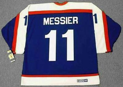 4096c8320 MARK MESSIER New York Rangers 1970 s CCM Vintage Throwback NHL Hockey Jersey