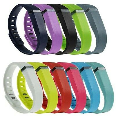 Replacement Wrist Band Bracelet w/Metal Clasp Large/Small size For Fitbit Flex U