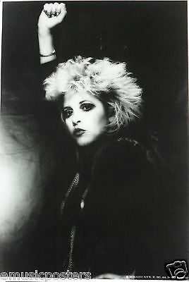 """STEVIE NICKS """"FIST UP IN THE AIR"""" COMMERCIAL POSTER FROM THE 80's- Fleetwood Mac"""