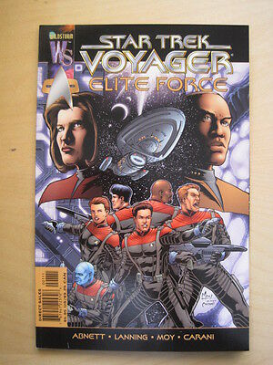"Star Trek : Voyager  ""elite Force"" Graphic Novel. Abnett, Lanning.wildstorm 2000"