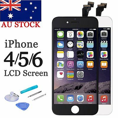 iPhone 6 6P 6S 5S 5C 5 4S 4GSM LCD Display Screen Replacement Digitizer Assembly