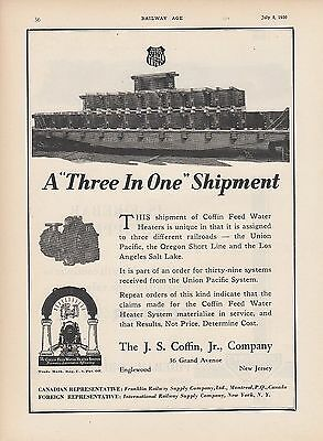 1930 JS Coffin Jr Co Englewood NJ Ad: GN Great Northern Railway Flat Car