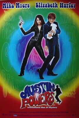 Austin Powers International Man of Mystery (1997) ORIGINAL POSTER Mike Myers