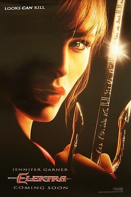 Elektra Original D/S Advance Cinema Poster (2005) Jennifer Garner