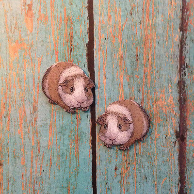 Handcrafted Plastic Guinea Pig Cavie Earrings Made in USA