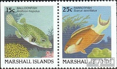 Marshall-Islands 172D/173D unmounted mint / never hinged 1988 Fish