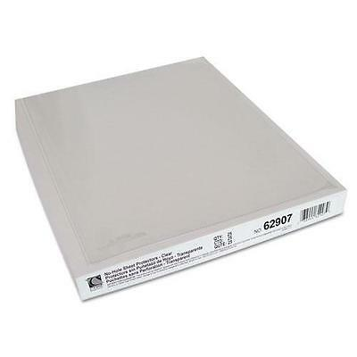 C-Cline 62907 Top-Load No-Hole Polypropylene Sheet Protector, Heavyweight, Clear
