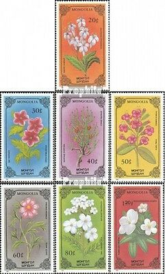 Mongolia 1784-1790 unmounted mint / never hinged 1986 Plants
