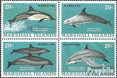 Marshall-Islands 19-22 block of four unmounted mint / never hinged 1984 Stamp Ex