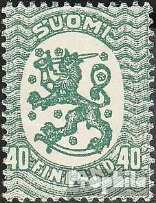 Finland 80A I fine used / cancelled 1917 clear brands: Crest