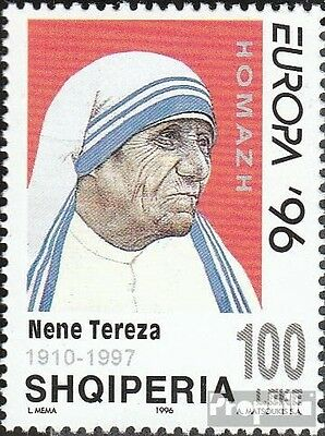 Albania 2636 unmounted mint / never hinged 1997 Death of Mother Teresa