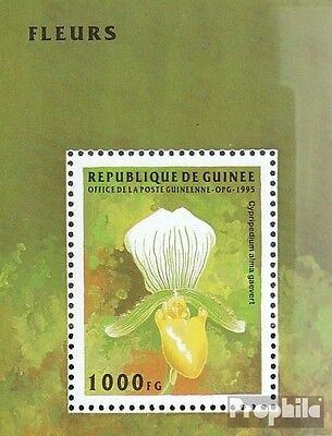 Guinea Block497 unmounted mint / never hinged 1995 Flowers