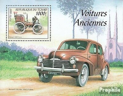 Chad Block304 unmounted mint / never hinged 2000 Old Automobile