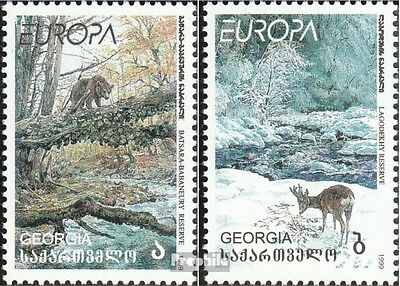 georgia 312-313 unmounted mint / never hinged 1999 National