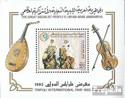 Libya block129 unmounted mint / never hinged 1993 International Fair