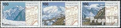 Tajikistan 109-111 triple strip unmounted mint / never hinged 1997 Pamirgebirge