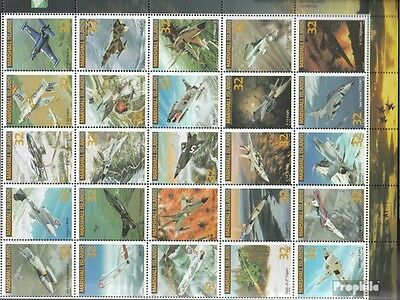 Marshall-Islands 636-660 ZD-archery fine used / cancelled 1995 Combat Aircraft
