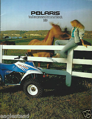 ATV Brochure - Polaris - Trail Big Boss - 1989 (V37)