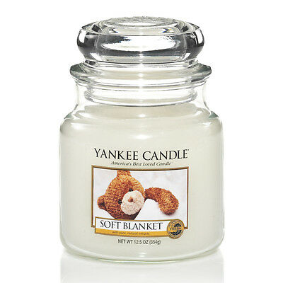 Yankee Candle Soft Blanket Mittleres Glas 411 g