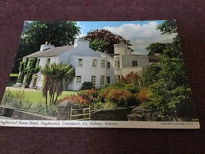 Old Postcard Oughterard Hotel Co Galaway Ireland