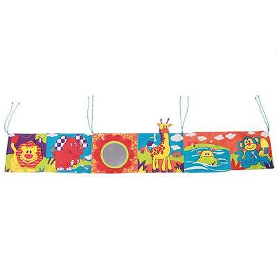 Baby Intelligence Mental Development Activity Cot Cloth Book Educational Toy- LD