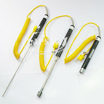 K type Thermocouple Surface Temperature Probe -50°C - 500°C for Thermometers K