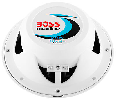 Coppia casse marine BOSS AUDIO MR50W/MR50 2 uscite da 5.25""