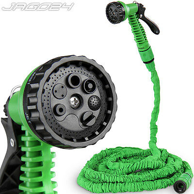 15 m Flexibler Gartenschlauch Wasserschlauch Schlauch Flexi Hose Magic Wonder