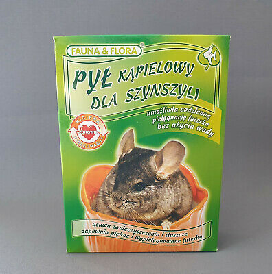 Chinchilla Sand bath 1KG Great for all Small Pet Dust Bathing