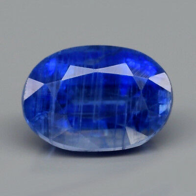 1.34 ct. Ovaler Royalblauer 7 x 5 mm Sri- Lanka Kyanit