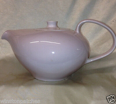 Iroquois China Russel Wright Casual Pink Sherbet Teapot 54 Oz All Pink
