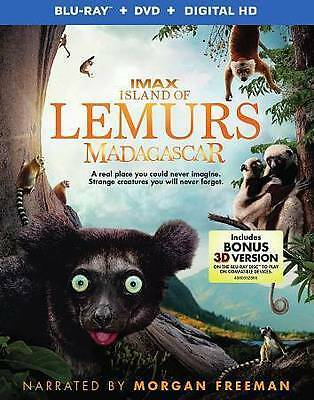 Island of Lemurs: Madagascar (3D & 2D Blu-ray Disc ONLY, 2015)