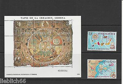 Spain Mint Never Hinged Postage Stamps Mnh Los H 3387