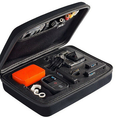 New Carry Travel Storage Protective Box Bag Case Medium M For GoPro Cameras