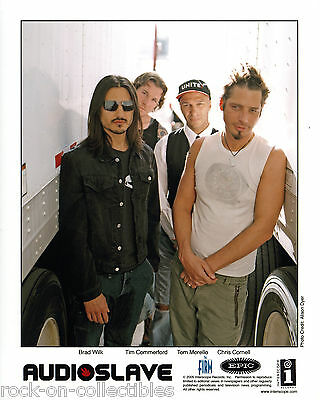 Audioslave / Chris Cornell 2005-2007 Lot of 2 Original Color Press Photos