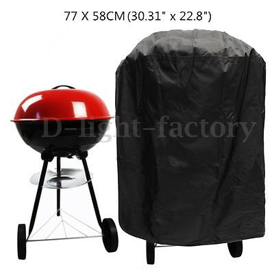 Outdoor BBQ Round Waterproof Cover Barbecue Covers Grill Gas Dust Rain Protector
