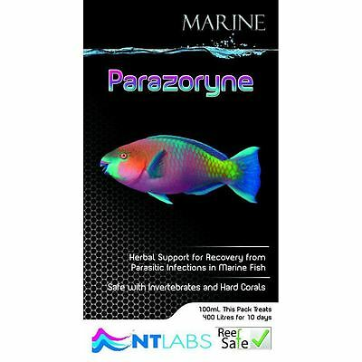 Nt Labs Marine Parazoryne 100Ml Support For Recovery From Parasitic Infections